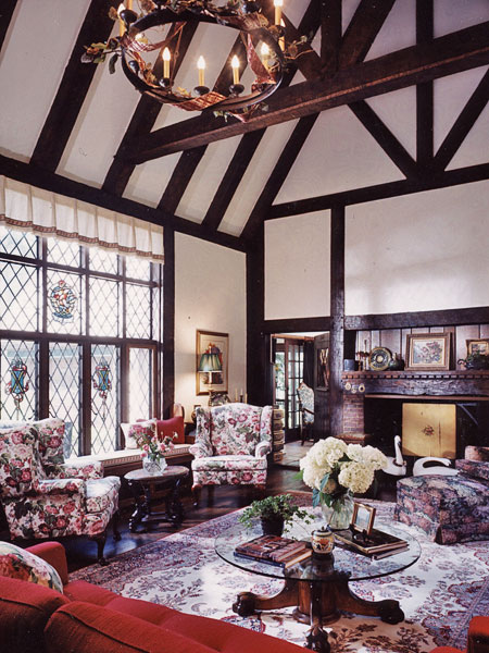 ... so a new 1500-square-foot addition was constructed with a Tudor-style  beamed great room and a conservatory. Carefully designed and crafted to a  high ...